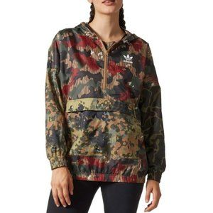Adidas Pharrell Williams Camo Windbreaker L